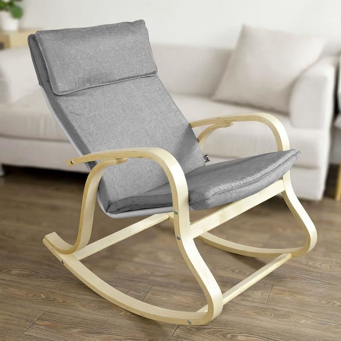 chaise à bascule allaitement