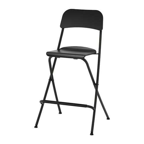 chaise de bar pliante
