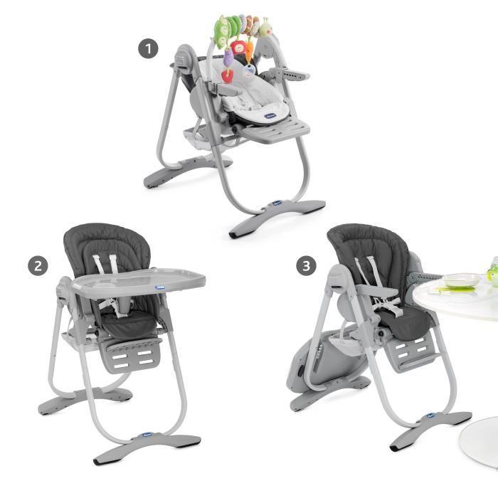 chaise haute évolutive chicco
