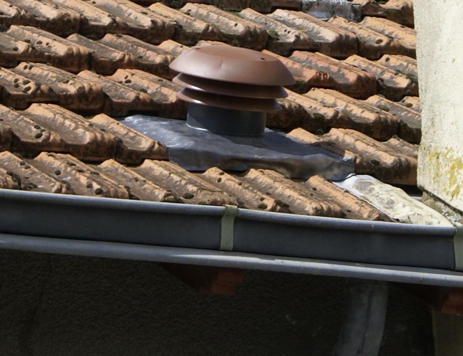 chapeau de toiture vmc
