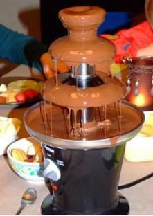 fontaine au chocolat