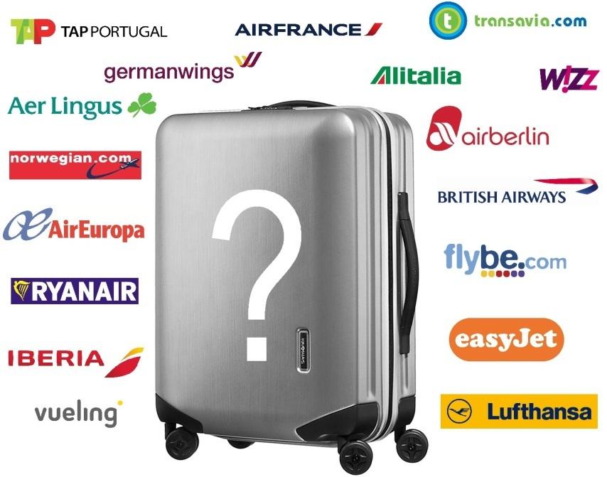 format valise cabine