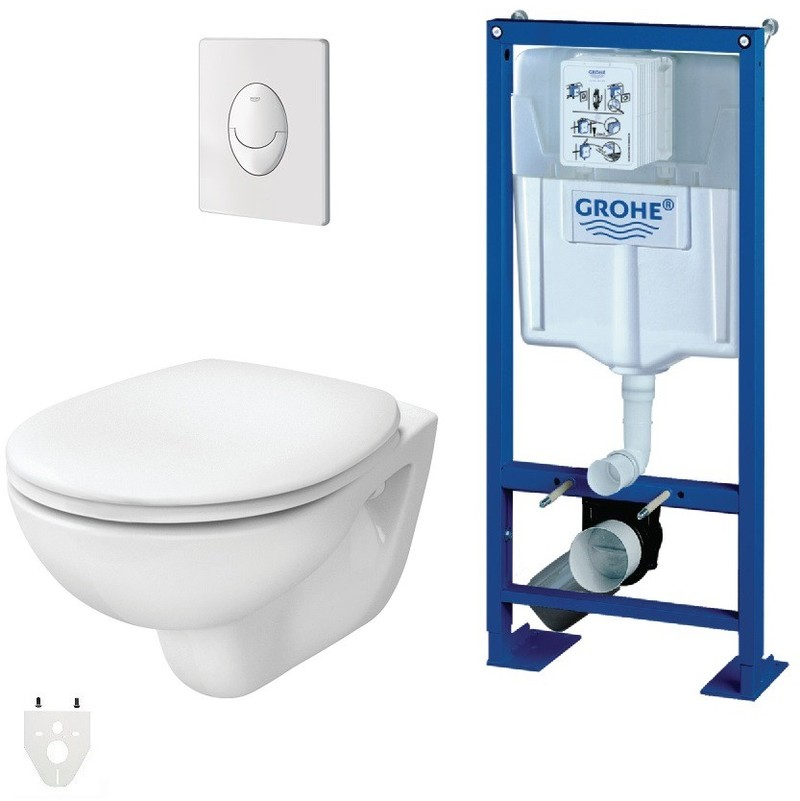 grohe wc suspendu