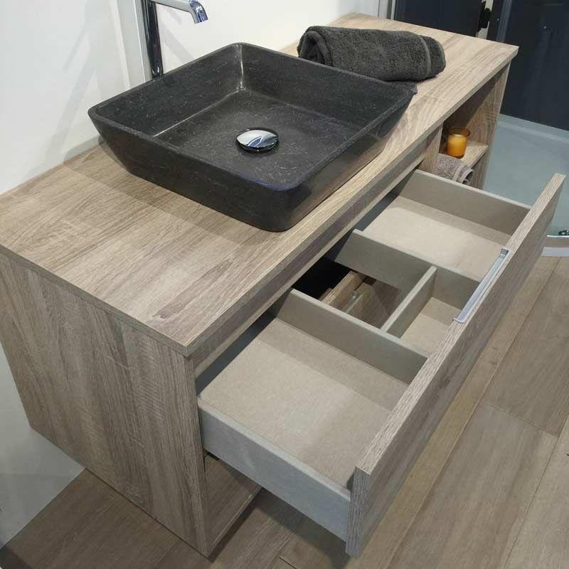 meuble tiroir salle de bain