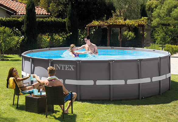 piscine tubulaire ronde