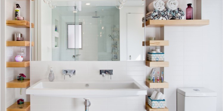 rangement pour salle de bain