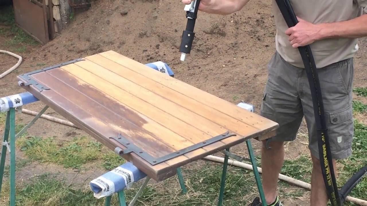 sableuse bois
