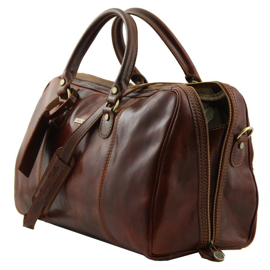 sac voyage cuir femme