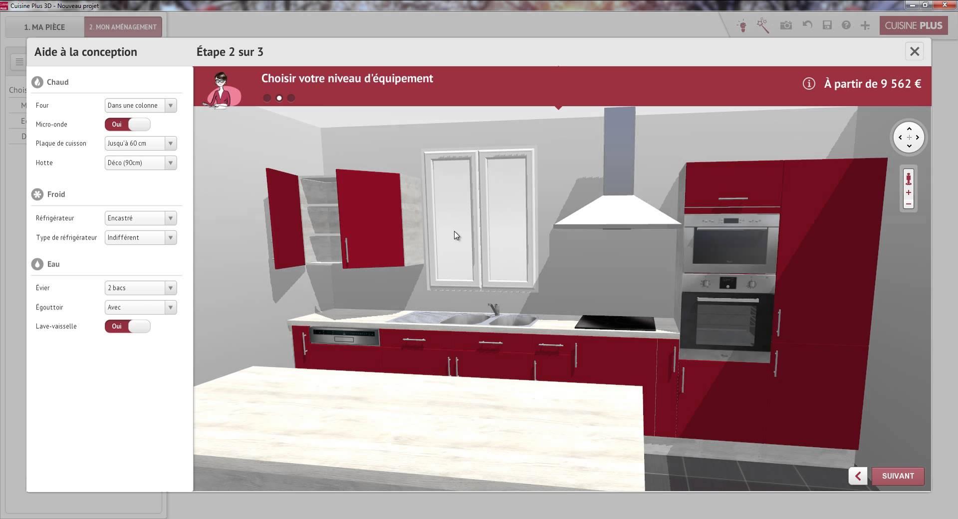 simulateur cuisine