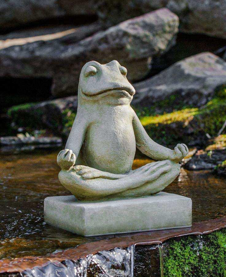 statue deco jardin