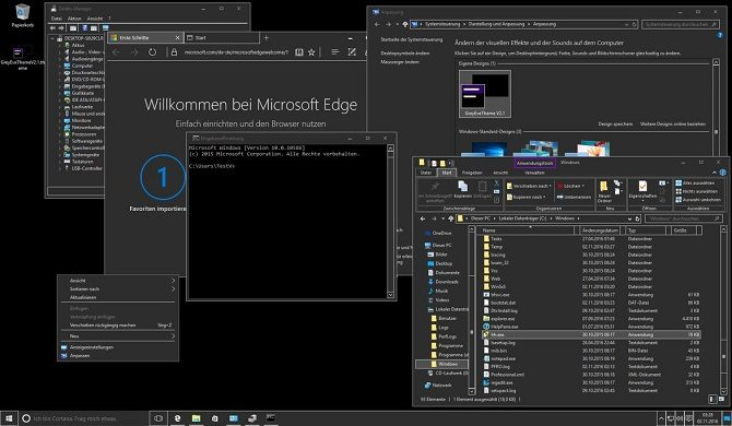 theme windows 10