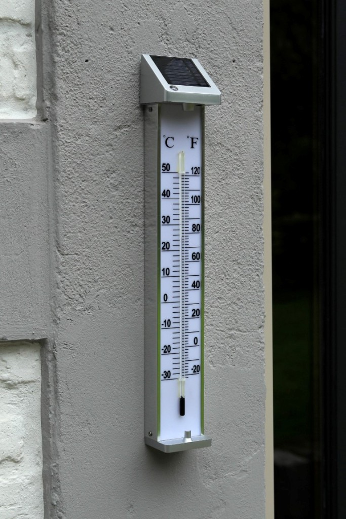 thermometre de jardin