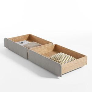 tiroir de rangement sous lit