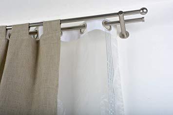 tringle double rideau