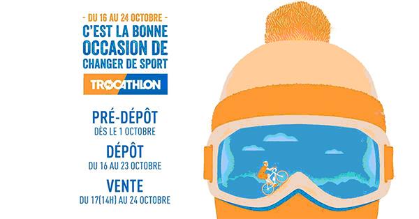 trocathlon octobre 2017