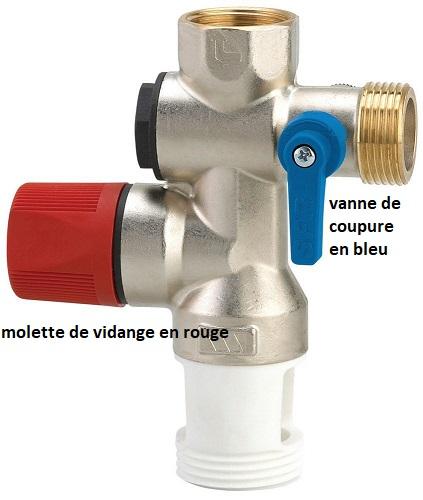 vidange chauffe eau