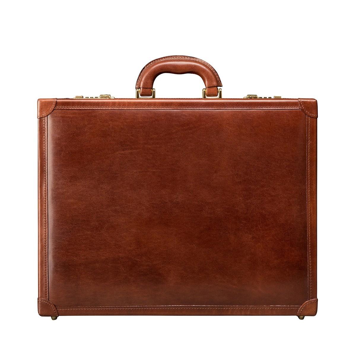 attaché case en cuir