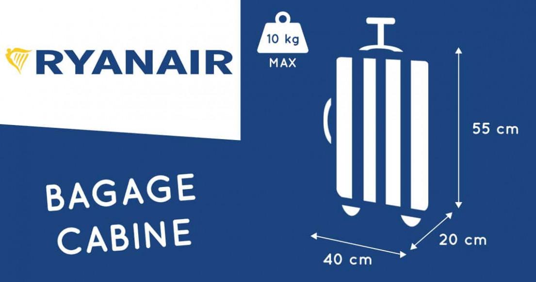 bagage ryanair cabine