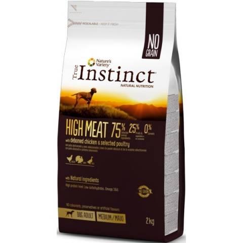 croquettes true instinct high meat
