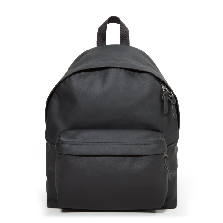 eastpak padded pak r black leather
