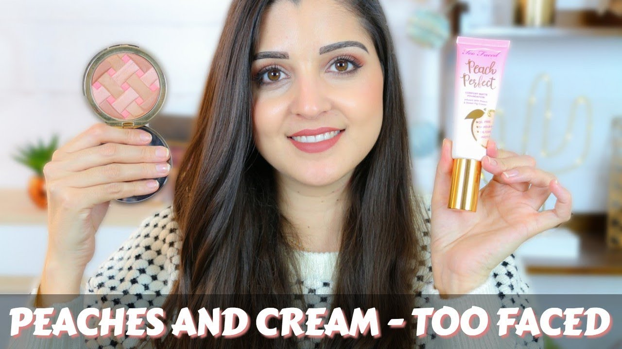 fond de teint peach perfect too faced