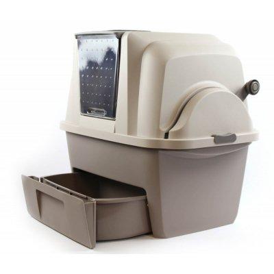 maison de toilette pour chat autonettoyante