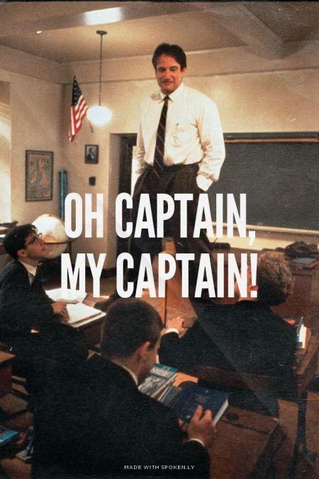 my captain