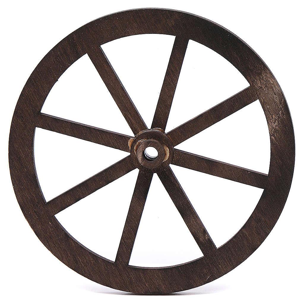 roue en bois