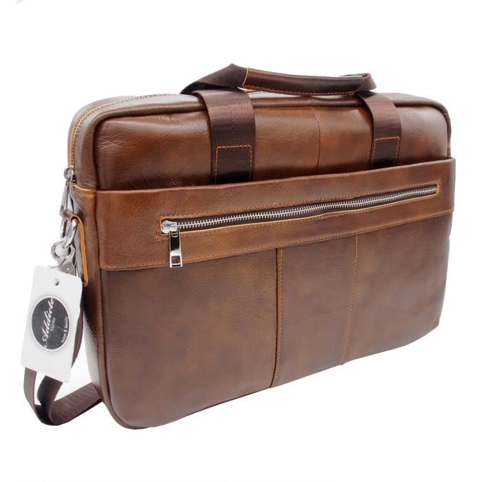 sac cartable cuir homme