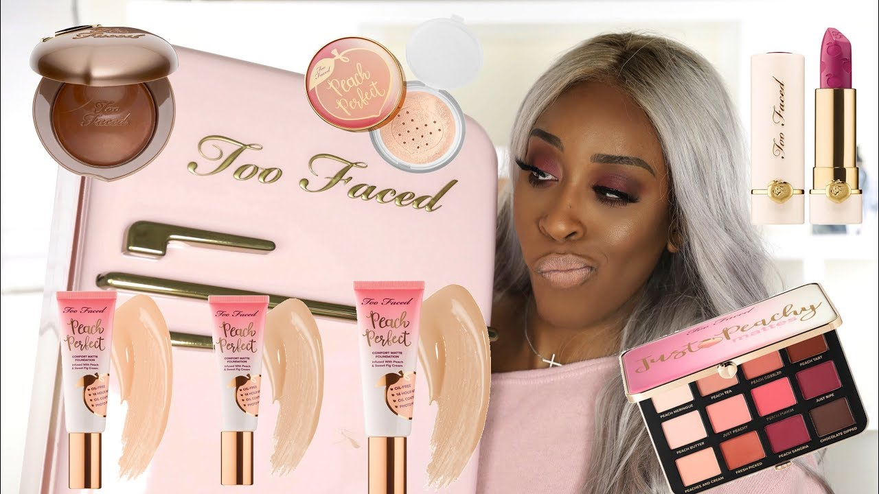 too faced peaches and cream