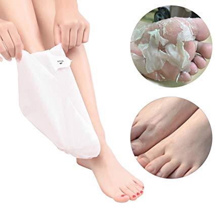 peeling pieds