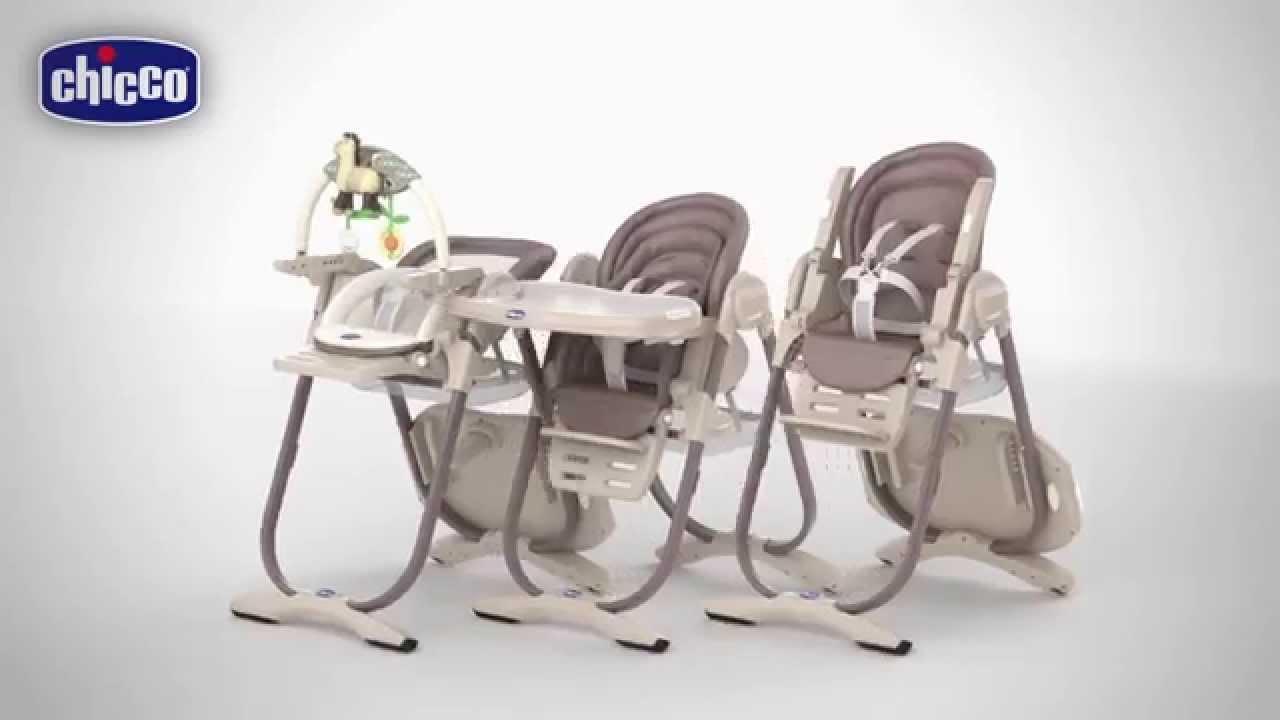 chaise haute chicco polly magic 3 en 1