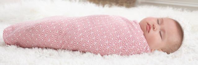 lange en coton pour bébé