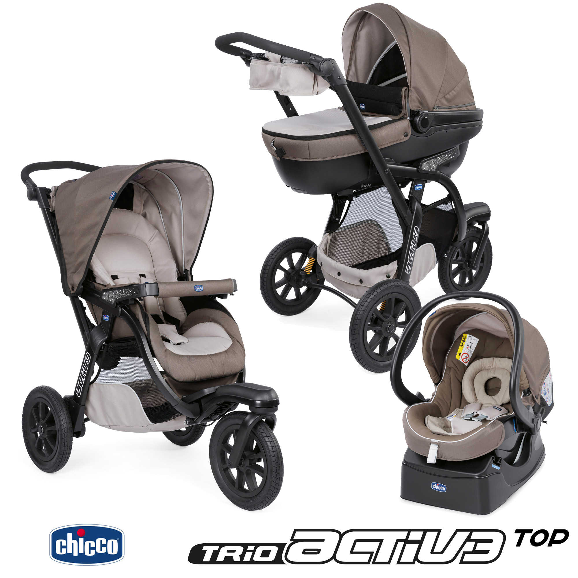 poussette trio activ3 top chicco