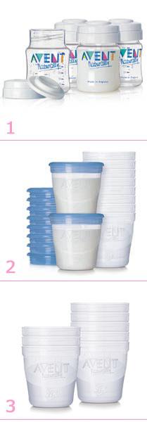 recipient conservation lait maternel