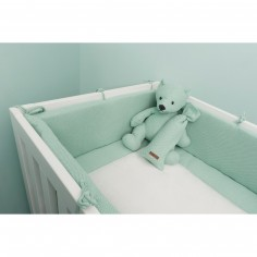 tour de lit vert d eau