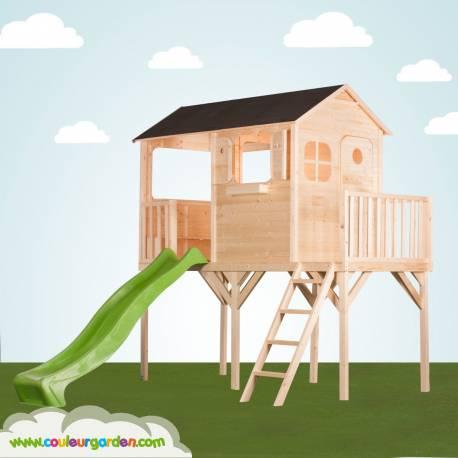 cabane pilotis enfant