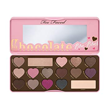 palette chocolate bonbon too faced