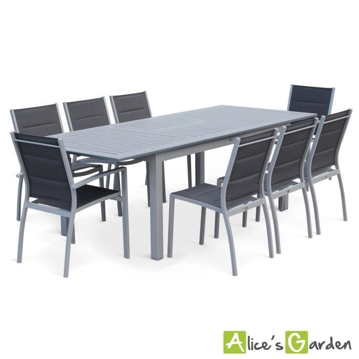 table de jardin 8 personnes