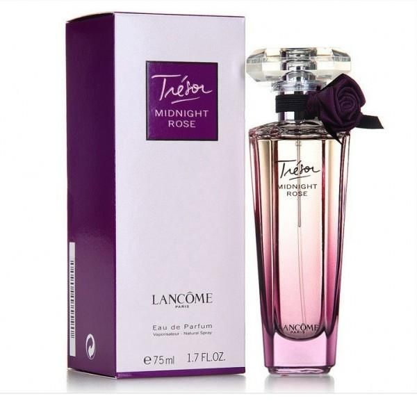 tresor de lancome midnight rose